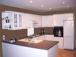 idee peinture cuisine meuble blanc plafond peinture architecture idee fille ouverte bois blanche