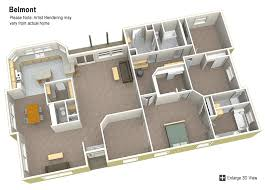 Belmont 3 Brm 2 1 2 Bth 2585 Sgft Factory Expo Homes Future Floor Plans Oregon