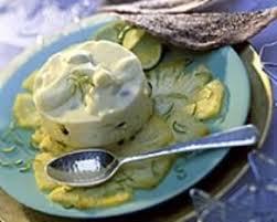 cuisine az com recettes recette mousse d ananas et tuiles au chocolat
