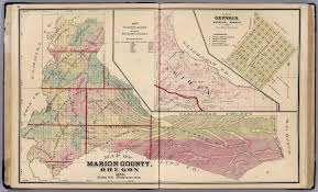 Oregon Map Of Counties by Map Number Seven Map Of Marion County Oregon 1878 Inset Map