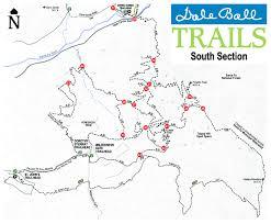 Santa Fe Map Dale Ball Trails Santa Fe Conservation Trust