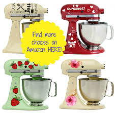 Kitchen Aid Colors by Adorable Vinyl Decals For Kitchenaid Mixers Starting At Only