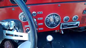 jeep scrambler blue 1984 jeep cj 8 scrambler with 1986 4 2l 258 inline 6 engine youtube