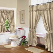 Matching Bathroom Window And Shower Curtains 12 Best Swag Shower Curtains And Matching Window Curtains