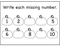 collections of numbers 1 10 worksheets for kindergarten bridal