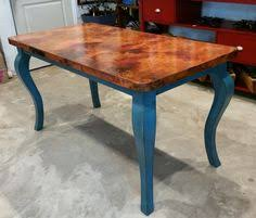 Copper Dining Table Restoration Hardware Inspired Contact Us - Copper kitchen table