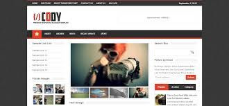 free magazine blogger template cool blog templates premium blogger templates new wordpress