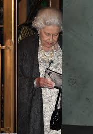 the queen makes her debut at the ivy in london daily mail online