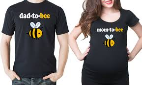 maternity t shirts pregnancy announcement couple baby shoot