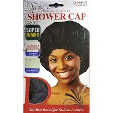 donna premium collection shower cap jumbo 22164