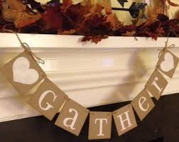 happy thanksgiving banner thanksgiving decorations fall decor