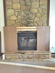 rental approved faux fireplace facade domicile 37