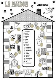 Beginner French Worksheets La Maison Pinterest Teaching French French