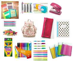 high school stuff my school supply it list school school high