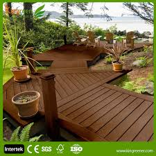 Backyard Deck Prices Cheap Non Slip Composite Decking Boards Recycled Waterproof Wood