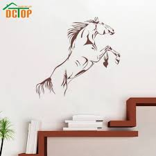 popular horse quotes buy cheap horse quotes lots from china horse hot sale vinyl horse wall stickers decals home decor for living room decoration murals quote