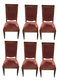 dining room six french art deco 2017 dining chairs copy french