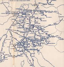 Rail Map Of Europe by Holland Dutch Train Rail Maps