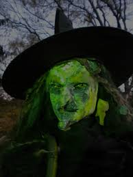 Easy How To Make A Halloween Witch Youtube
