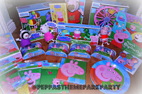 peppa pig party supplies inside the wendy house our peppa pig theme park party