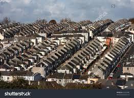 british houses traditional british houses plymouth uk stock photo 25565980