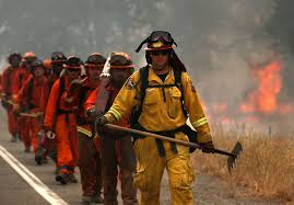 Wildfire Fighting Boots by California Inmate Firefighter Dies While Fighting Humboldt County