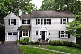 new england colonial home sweet exteriors interiors pinte house