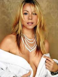Mariah Carey goes topless in new video as she admits she s     Blogs at SFGate com
