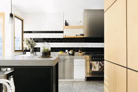 design for kitchen tiles 31 black kitchen ideas for the bold modern home freshome com