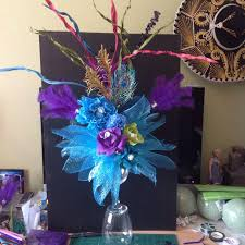 peacock centerpieces 33 best peacock theme party centerpieces images on