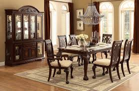 Dining Table With  Chairs Pueblosinfronterasus - Dining room chairs houston
