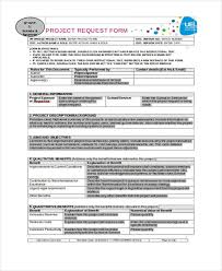 Project Request Form Template Excel Request Form Template
