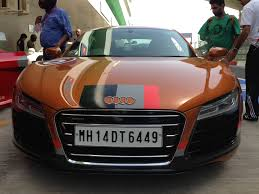 audi r8 matte black audi r8 v10 plus variant launched in india at 2 05 crore