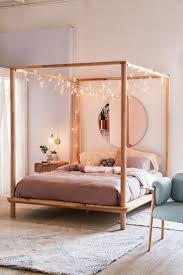 bedroom canopy amazon com dhp modern metal framed industrial frame