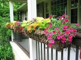 patio ideas fairfield square planter deck railing planters boxes