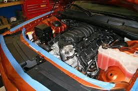 Dodge Challenger Engine Swap - sxt to srt8 swap