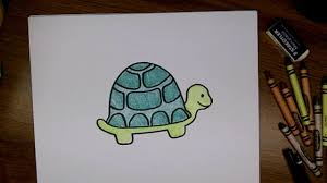 how to draw a cute cartoon turtle step by step video dailymotion