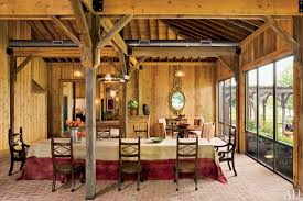 Interior Of Homes Pictures by 15 Rustic Barn Style Homes Photos Architectural Digest