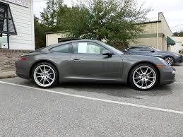 grey porsche 911 2013 porsche 911 carrera agate gray low miles rennlist