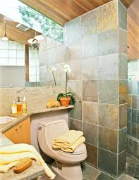 Rustic Tile Bathroom - 20 sophisticated basement bathroom ideas to beautify yours