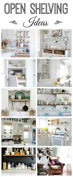 open shelving open shelving ideas how to style town country living