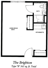 studio apartment floor plans 400 sq ft efficiency laferida com