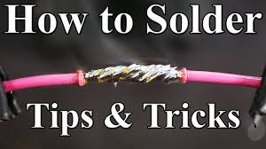 how to solder wires together best tips and tricks youtube