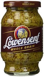 lowensenf mustard lowensenf whole grain mustard 9 3 ounce grocery