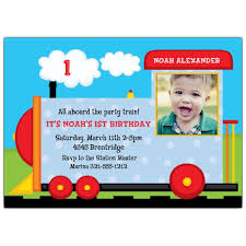 choo choo first birthday invitation paperstyle