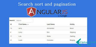 grid layout angularjs search sort and pagination in ng repeat angularjs ciphertrick