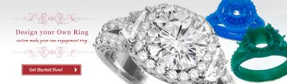 make your own engagement ring design your own engagement ring inter continental jewelers