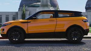 orange range rover evoque rover evoque 6 0 for gta 5