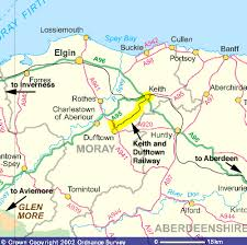 map us railways how to find us keith and dufftown railway