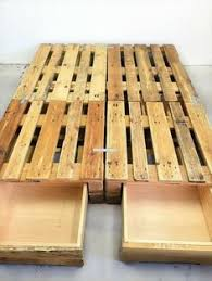 Diy Pallet Bed With Storage by Diy Pallet Wood Bed Frame Ideas Pallet Bed Frames Bed Pallets